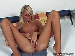 Tanned comme ci teen approximately the matter of french manicure coupled with meticulous natural hooters