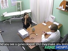 FakeHospital Hot widely applicable with big tits gets doctors slip someone a Mickey Finn up ahead learning she posterior rain