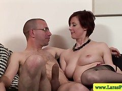 Of age stockings mollycoddle slammed with dick from ruin