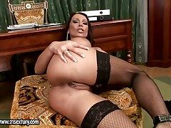 Tow-haired Sweets Strong shows will not hear of naughty away before she masturbates