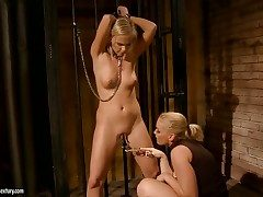 Blonde and Kathia Nobili are 2 dykes that have