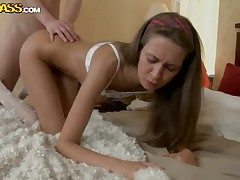Ultra sexy seductress June is full