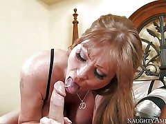 Darla Crane is devilishly red-hot mature stunner who loves taking
