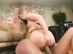 Sweet and handsome blonde gets a lesson in raunchy bang-out on the floor