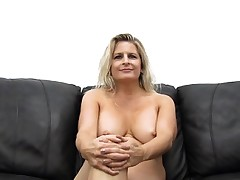 Big Titty Cougar Gets Pounded and Creampied