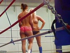 Young smelly on blonde up an totalling of brunette babes Jenna Spectacular up an totalling of